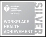 Silver Workplace Health Achievement Award
